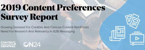 Content Marketing Survey Report